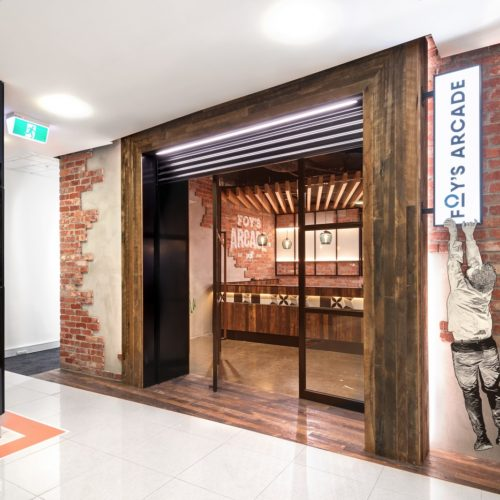 Foys Arcade Arch Fitouts - Topic Interiors