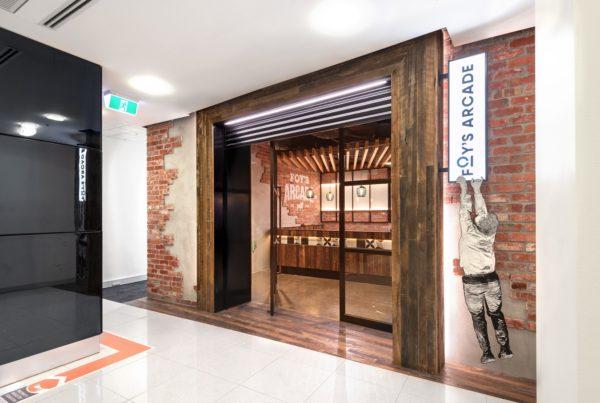 Foys Arcade Arch Fitouts - Topic Interiors