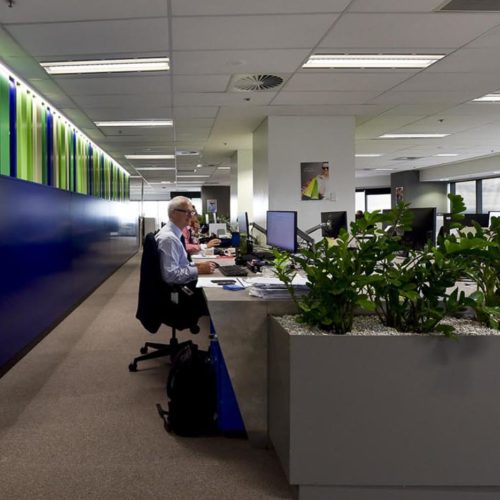 Cbus Office Fit Outs - Topic Interiors