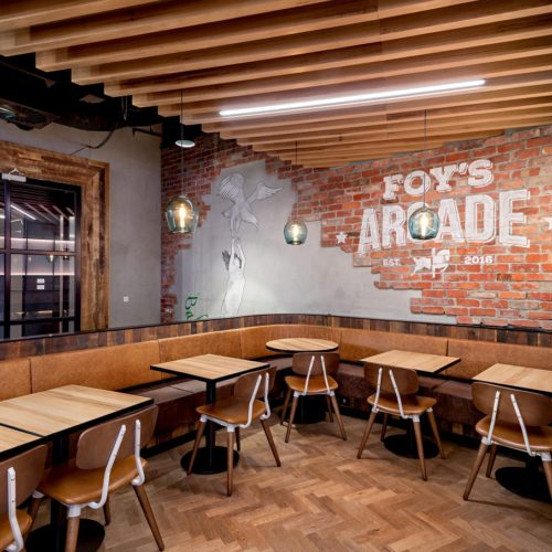 Foys Arcade Arch Office Fit Out - Topic Interiors